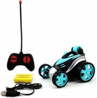 CADDLE & TOES Remote Control Car RC Stunt Vehicle 360°Rotating Rolling Radio Control Electric Race Car Boys Toys Kids Gifts (Multicolor, Red, Yellow)