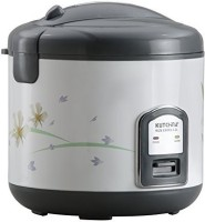Kutchina Rize Excel 2.2 l Plastic Rice Cooker Electric Rice Cooker(2.2 L, White, Grey)