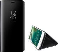 mrs simin Flip Cover for iPhone 6 Plus,iPhone 7 Plus,iPhone 8 Plus(Black, Transparent)