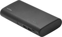 Rock 10000 mAh Power Bank (Fast Charging, 10 W)(Black, Lithium-ion)