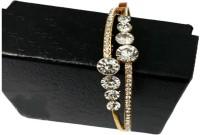 Rayie Collection Crystal Diamond Gold-plated Tennis Bracelet