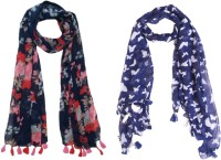 FABS Collection Printed Polycotton Women Stole, Scarf, Fancy Scarf