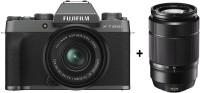FUJIFILM X Series X-T200 Mirrorless Camera Body with 15-45 mm + 50-230 mm Dual Lens Kit(Grey)