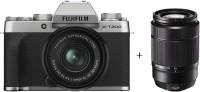 FUJIFILM X Series X-T200 Mirrorless Camera Body with 15-45 mm + 50-230 mm Dual Lens Kit(Silver)