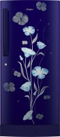 Haier 195 L Direct Cool Single Door 3 Star Refrigerator with Base Drawer(Marine Freesia, HRD-1953CPMF-E)