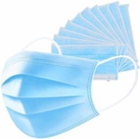 badlav Pack Profession Disposable Mask Surgical 3-Ply Nonwoven Disposable Elastic Mouth Soft Breathable Flu Hygiene Face M - 10 pack of mask Antiviral Medical Mask Thickened Disposable Mouth Mask Pack Profession Disposable Mask Surgical 3-Ply Nonwoven Disposable Elastic Mouth Soft Breathable Flu Hyg