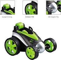 Toyvala 360 Degree Rotation Ultimate Stunt Racing Car, RC Cars Flip and Roll, Stunt Car Toy for Kids (Multicolor)