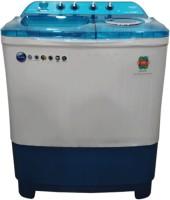 Lloyd 7.5 kg Semi Automatic Top Load Blue, White(LWMS75BDB(BLUE))