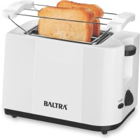 Baltra BTT-216 750 W Pop Up Toaster(White)