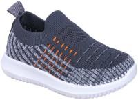 Happy Feet Boys & Girls Slip on Walking Shoes(Grey)