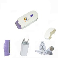 DOERSHAPPY Hair Remover  Runtime: 40 min Trimmer for Women(White, Purple)