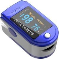 Agarwals Swadesi Finger Tip Pulse Oximeter, Multipurpose Digital Monitoring Pulse Meter Rate & SpO2 with OLED Digital Display with Battery Pulse Oximeter(Blue, White)
