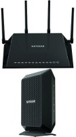 NETGEAR Home Networking Bundle - DOCSIS 3.0 Cable Modem with AC2600 WiFi Router 100 Mbps Router(Multicolor, Single Band)