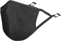 JOCKEY Unisex Face FM 02 Cloth Mask With Melt Blown Fabric Layer(Black, L, Pack of 2)