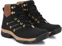 VANETIEN Riding Shoes For Men(Black)