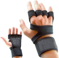 HOW (House Of Wishes) Weight Lifting Hand Grip, Wrist Wrap Support Guard, Pull Up Bar,Gym,Palm Protector Wrist Support(Black)