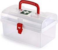 SKYZONE Plastic Milton Medicine Box, Medical Box, First aid Box, Multi Purpose Box, Multi Utility Storage with Handle First Aid Kit(Home)