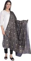 Bohomandala Cotton Blend Floral Print Women Dupatta