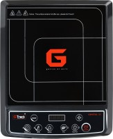 G Track S5 Crystal 2000 W Induction Cooktop(Black, Push Button)