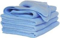 Sheen Microfiber Vehicle Washing  Cloth(Pack Of 4)