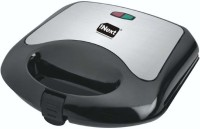 Inext IN09 Sandwich Maker, 750W with Non-Stick Plates Grill(Black)