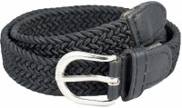 Kutumbh Black Elastic Strechable Adjustable Belts for kids Boys and Girls (Suitable for 2 to 8 Years Old)
