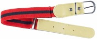 Kutumbh Red Black Elastic Strechable Adjustable Belts for kids Boys and Girls (Suitable for 2 to 8 Years Old)