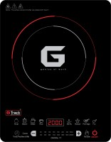 G Track T7 Crystal 2000 W Induction Cooktop(Black, Touch Panel)