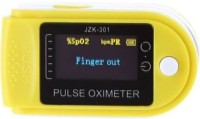 GUGGU EFK_663Y_Pulse Oximeter Finger Oximetry SPO2 Blood Oxygen Saturation Monitor Heart Rate Monitor Rotatable OLED Digital Display Portable with Batteries and Lanyard Pulse Oximeter Pulse Oximeter(Multicolor)
