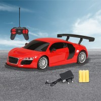 Miss & Chief Mini Racing 4 Channel RC Car(Red)