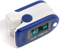 swaggers LED Display Fingertip Pulse Oximeter (White) Pulse Oximeter(Blue)