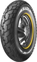 JK TYRE Blaze BA22 90/90 12 Front & Rear Tyre(Dual Sport, Street, Offroad Knobbies, Tube Less)