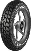 JK TYRE Blaze BA23 90/100 10 Front & Rear Tyre(Dual Sport, Street, Offroad Knobbies, Tube Less)