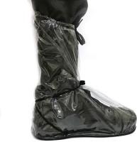 DOMUM Footrella 2.0 New Waterproof Rain Shoe Cover for Men Microfibre Transparent Boots Shoe Cover, High Heeled Shoe Cover, Toes Shoe Cover(Free Pack of 1)