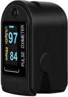 Smartyskull Heart Rate Through Finger Pulse Oximeter + OLED Digital Finger Pulse Oximeter Spo2h Blood Oxygen Monitor Arterial Saturation Monitor With Pulse Rate Monitor Heart Rate Monitor Medical Health Monitoring Device with Automatic Shutdown + Carrying Bag Pouch + Lanyard Hanging Cord Strap Finte