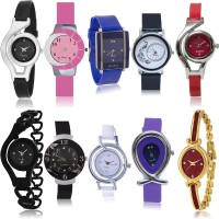 TIMENTER Contemporary Collegian 10 Watch Combo For Girls And Women - G1-G5-G9-G13-G18-G24-G50-G54-G68-G122 combo watch Analog Watch  - For Girls