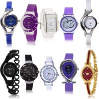TIMENTER Best Analogue 10 Watch Combo For Girls And Women - G2-G6-G10-G17-G21-G24-G50-G54-G68-G122 combo watch Analog Watch  - For Girls