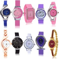 GROOT New Italian Designer 10 Watch Combo For Girls And Women - G2-G3-G9-G14-G21-G24-G50-G54-G69-G122 combo watch Analog Watch  - For Women