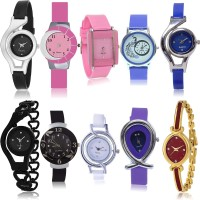 GROOT New Rich 10 Watch Combo For Girls And Women - G1-G2-G9-G14-G19-G24-G50-G54-G68-G122 combo watch Analog Watch  - For Women