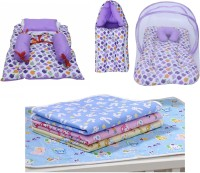 Miss & Chief New Born Essentials | Gift Pack (0-3 Months)(Total Items: 7)(Multicolor)