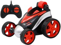 Toyvala 360 Degree Rotation Advanced Stunt Racing Car, RC Cars Flip and Roll, Stunt Car Toy for Kids (Multicolor)