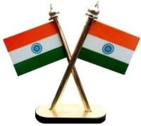 epoch India Rectangle Car Dashboard Flag Flag(Nylon)