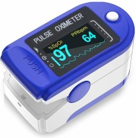 T TOPLINE Heart Rate Through Finger Pulse Oximeter + OLED Digital Finger Pulse Oximeter Spo2h Blood Oxygen Monitor Arterial Saturation Monitor With Pulse Rate Monitor Heart Rate Monitor Medical Health Monitoring Device with Automatic Shutdown + Carrying Bag Pouch + Lanyard Hanging Cord Strap Fintert