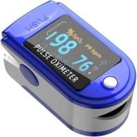 Mahvi Toys Finger Tip Pulse Oximeter, Multipurpose Digital Monitoring Pulse Meter Rate & SpO2 with LED Digital Display for Sports or Daily Use Pulse Oximeter(Blue)