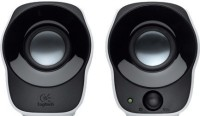 Logitech Stereo Speakers Z120(White, Black, 2.0 Channel)