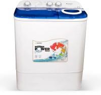 Sansui 6.5 kg Powerful Spin, Breeze Dryer Technology Semi Automatic Top Load Blue(JSX65S-2022N)