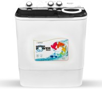 Sansui 6.5 kg Powerful Spin, Breeze Dryer Technology Semi Automatic Top Load Black(JSX65S-2022K)