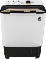 TOSHIBA 7.5 kg Easy Kit, Air Dry Technology Semi Automatic Top Load Black, White, Gold(VH-J85W-IND)