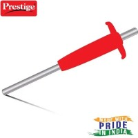 Prestige Steel, Plastic Gas Lighter(Red, Pack of 1)