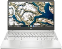HP Chromebook 14a Celeron Dual Core - (4 GB/64 GB EMMC Storage/Chrome OS) 14a-na0003tu Chromebook(14 inch, Mineral Silver, 1.46 kg)
